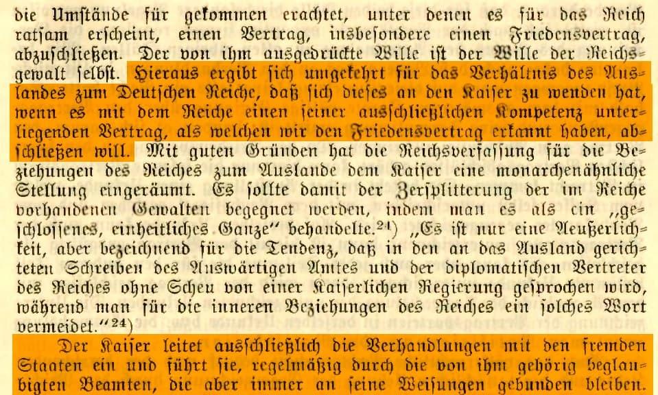 Dissertation Friedensvertrag nach Reichsverfassung